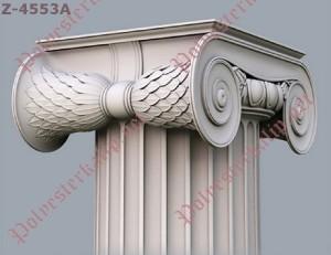 iyon sütun başlık modelleri polyester ve silikon kalıp iyon başlıkları